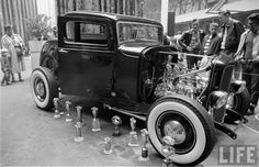 hot rods of the fifties - - Yahoo Image Search Results Funny Animal Quotes, Funny Animals, Old Hot Rods, Traditional Hot Rod, Celebrity Travel, Street Rods, Show Photos, American Civil War, Drag Racing