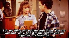 Oh boy meets world. Love it