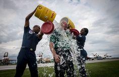 Pentagon Tells Troops Not To Mention Service In ALS Ice Bucket Challenge //