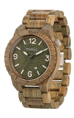 Alpha Army - Completely free of toxic chemicals - Miyota movement - All wood – MuleTies