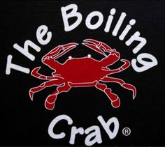 """[-] The Boiling Crab Logo. Overall looks """"undesigned."""" Poor type choice and icon is too plain and expected. Crab graphic is also too detailed for an icon versatility."""