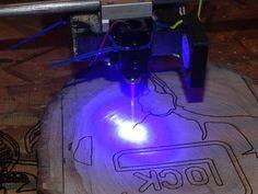 arduino 3 W laser cutter