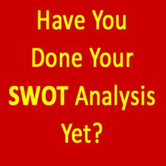 Carrying out a SWOT analysis can reveal your strengths, weaknesses and help you get focused on the opportunities available to you. Swot Analysis, Internet Marketing, Online Marketing