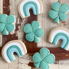 St Patrick's Day Cookies, Iced Cookies, Royal Icing Cookies, Birthday Cookies, Fun Cookies, Holiday Cookies, Cake Cookies, Sugar Cookies, Cupcakes