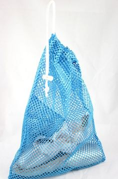 Colored Pointe Shoe Mesh Bag