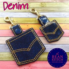 Denim -  TWO Sizes INCLUDED