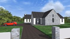 Bungalow Extensions, Old School House, Bungalow House Design, Building A House, Irish, House Plans, Shed, House Ideas, Outdoor Structures