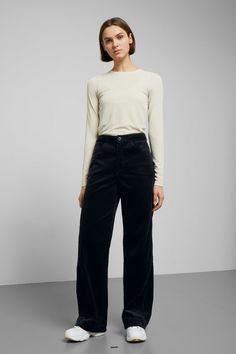 c135711367d Livia Cord Trousers - Black - Trousers