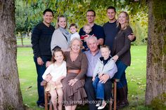 Thanksgiving family photos, large family photography