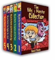 Nayu's Reading Corner: Billy and Monster collection by David Chuka, Aubre...