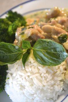 Lemongrass & basil chicken