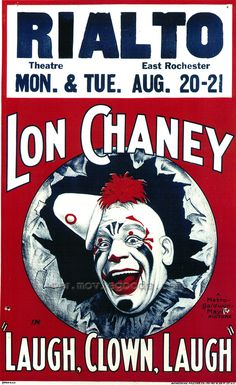 Lon Chaney....a distant relative of the Jones side of my family.