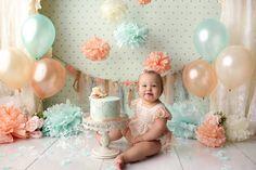 Stephanie Parker, Girls Dresses, Flower Girl Dresses, Cake Smash, Backdrops, Wedding Dresses, Flowers, Photography, Anna