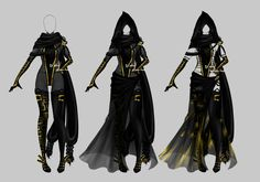 Outfit design - 200 - closed by LotusLumino on DeviantArt