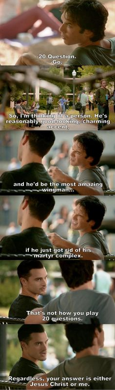The Vampire Diaries TVD S08E02 - Damon and Enzo