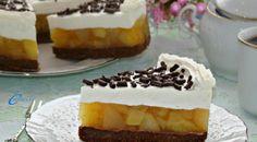 Cheesecake cu gust bogat de măr și vanilie!