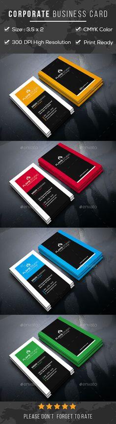 Corporate #Business #Card - Corporate Business Cards