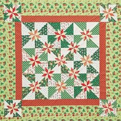 Seasonal stars quilt ~ All People Quilt