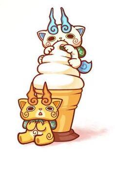 komasan se esta comiendo su helado favorito