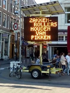 Best police advert #Amsterdam