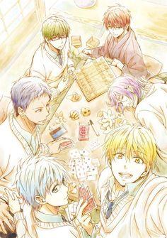 Kuroko no basuke or kuroko's basket: (Kiseki no Sedai) The Generation of Miracles