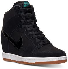 Nike Women's Dunk Sky Hi Essential Casual Sneakers from Finish Line