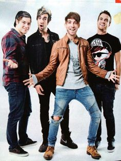 All Time Low...I get to meet them and hug them in just TWO days...4/18/14...AAAAAHHHH!!!!!