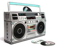 """Check out this @Behance project: """"PAPER BOOMBOX""""…"""