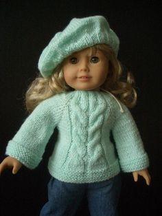 Knitting PATTERN beginner for 18 - very cute