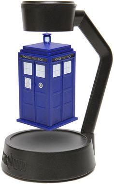 Doctor Who Levitating TARDIS