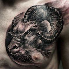 awesome aries tattoos - http://4develop.com.ua/aries-tattoos/ Check more at http://4develop.com.ua/aries-tattoos/