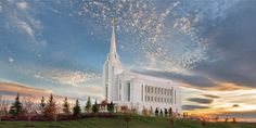 Rexburg Idaho Temple  ( need to get some of Roberta's pictures of it.  I think I like hers better.)