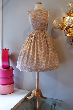 Vestido vintage.