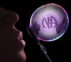coolest bubble ever