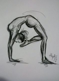 Baulo Tek  . YOGA ART . ASANA . Gypsy Soul by GypsySoulOrganics
