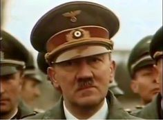 """putschgirl: """"Adolf Hitler in 1944, a real color image. """""""