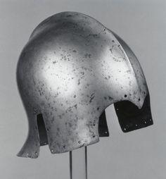 """Yelmo tipo """"sallet"""" - Venecia - 1450-1470."""