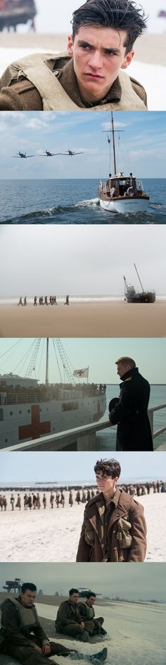 Nolan's latest film Dunkirk depicts the evacuation of 400,000 allied soldiers from the beaches of Dunkirk, France upon being surrounded by the german army. Nolan structured the story to be told from three perspectives: on the beach with soldiers awaiting evacuation, at sea with yachtsmen part of a fleet of civilian boats ordered to travel to Dunkirk and rescue the soldiers, and in the air with a RAF spitfire squadron ordered to provide air support for the operation. R.B.