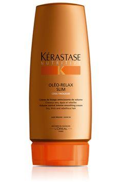 Crème Oléo Relax Slim, smoothing treatment for dry, rebellious hair - Nutritive Kérastase