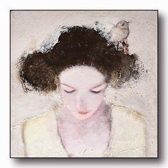 PAQUEREAU Véronique PLASTICIAN: small Woman Painting, Figure Painting, Illustration Art, Illustrations, Expressive Art, Whimsical Art, Portrait Art, Face Art, Beautiful Paintings