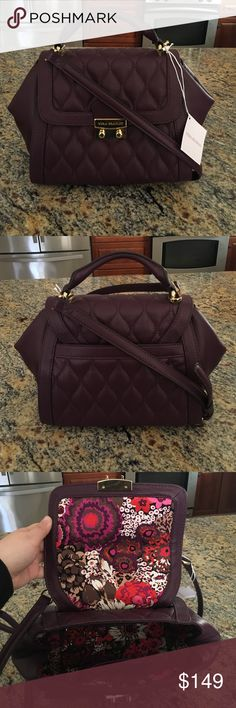 Vera Bradley Quilted Mini Stella Satchel Brand new! New with tags!! Lovely color for fall Vera Bradley Bags Satchels