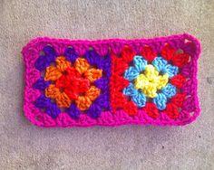 multicolor crochet granny squares crochet squares, crochetbug, granny square, crochet blanket, crochet afghan, crocheted, crocheting