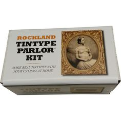 Rockland Tintype Parlor 8 Plate Kit