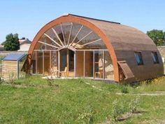 Eco-quartier habitat groupé maison passive écologique en Charente-Maritime 17. Ecoquille, Poitou-Charentes.