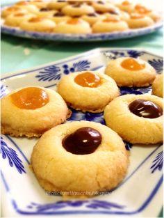 La cucina di Nuccia: Biscotti farciti (col dito o senza dito!)