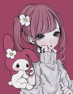 Pastel Goth Art, Anime Cosplay Girls, Drawing Anime Clothes, Cute Profile Pictures, Kawaii Anime Girl, Cute Anime Character, Anime Shows, Sanrio, Art Reference