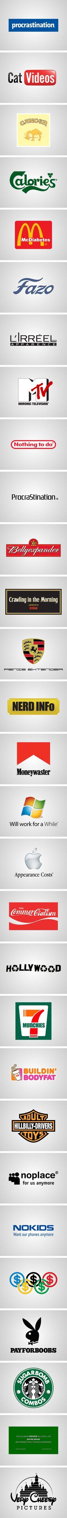 Honest Logos by Viktor H.