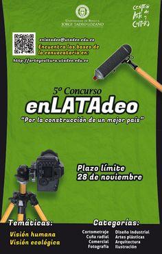 """5º Concurso enLATAdeo - """"Por la construcción de un mejor país""""."""
