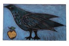 Rut Bryk Works on Sale at Auction & Biography Black Rock, Ceramic Artists, Line Drawing, Folk Art, Sculpting, Scandinavian, Whimsical, Moose Art, Auction