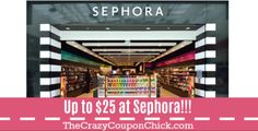 Check Your Emails! Highest Value Sephora Coupon ALL YEAR-Up to $25 OFF!!